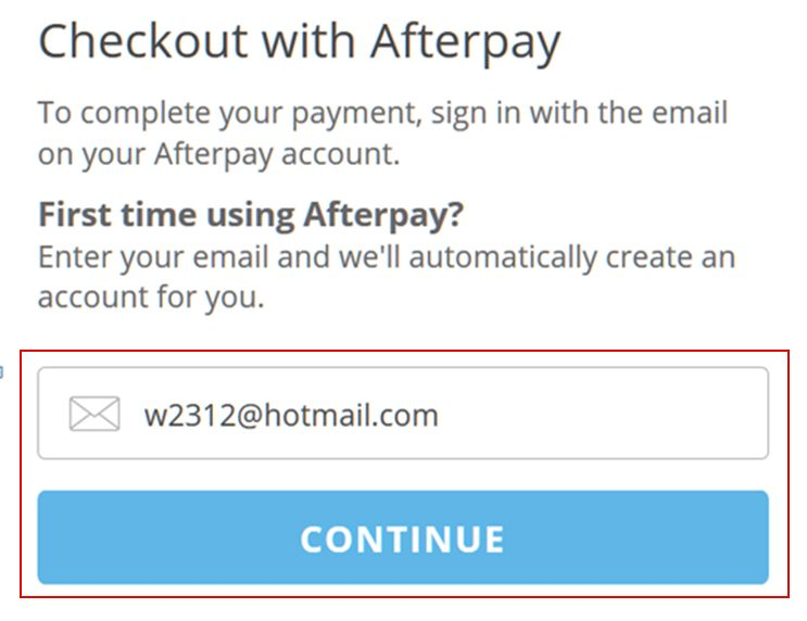 How to Use Afterpay at CrazySales | Afterpay Stores & Login