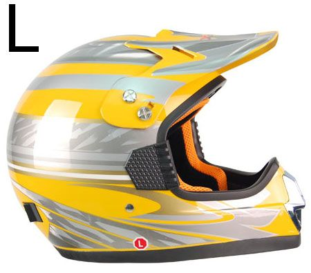 XRacer Motorcycle ATV/ Quad/ Pocket/ Dirt Bike Helmet Large Size