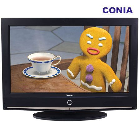 "CONIA 26"" 66 cm Wide Screen LCD TV with Built-in SD Tuner - CLCD2650SD"