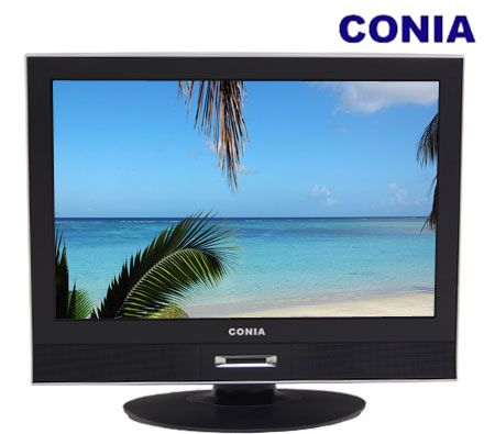 "CONIA 19"" 48 cm Wide Screen LCD TV with Built-in SD Tuner"
