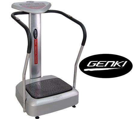 Genki Professional Body Vibration Machine Massage Exercise Platform