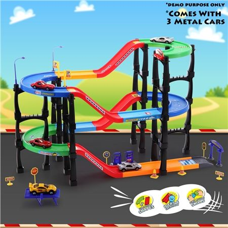 Children's Toy Car & Parking Lot Play Set | Crazy Sales
