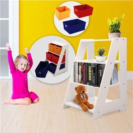 6 drawer kids toy organiser storage unit crazy sales. Black Bedroom Furniture Sets. Home Design Ideas