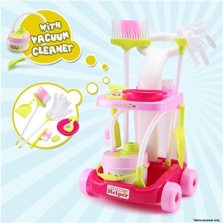 toy cleaning trolley vacuum cleaner crazy sales. Black Bedroom Furniture Sets. Home Design Ideas
