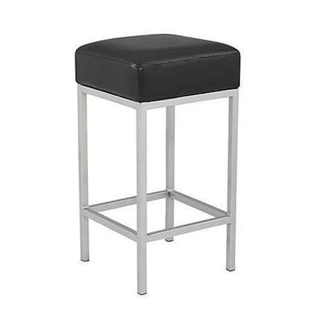 Vienna PU Leather Bar Stool - Black
