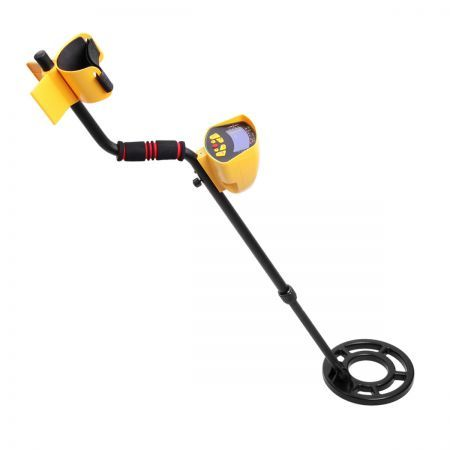 Deep Target Sensitive Searching Metal Detector with LED Readout