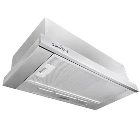 5 Star Chef Slide Out Range Hood 60cm