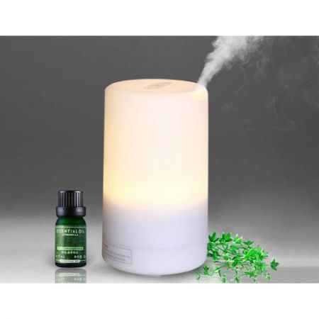 LUD Aromatherapy Ultrasonic Aroma Diffuser Humidifier Air Purifier - Warm Light