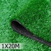 Artificial Grass 20 SQM Polypropylene Lawn Flooring 1x20M - Green