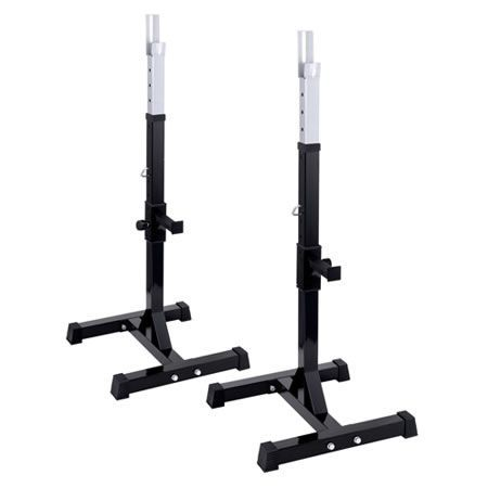 Squat Rack Bench Press Weight Lifting Stand Fitness Crazy Sales