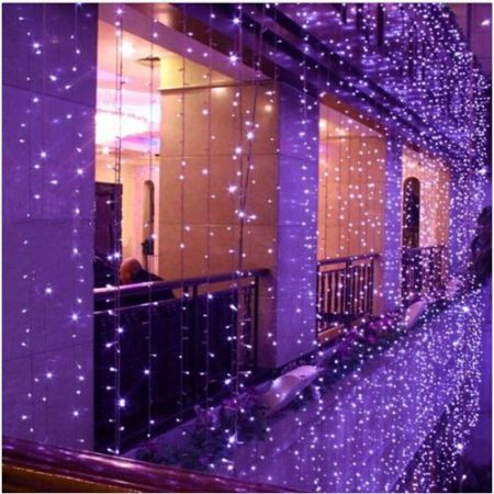 8mx3m 800led Purple Outdoor Christmas Xmas String Fairy
