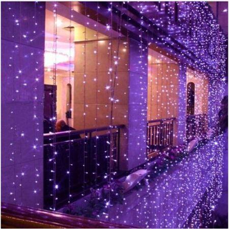 8mx3m 800led Purple Outdoor Christmas Xmas String Fairy