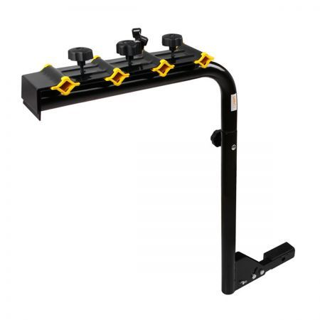 Bicycle Bike Carrier Rack with Lock - Black