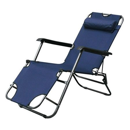 Folding Outdoor Camping Reclining Lounge Chair