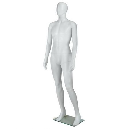 Full Body Male Mannequin Cloth Display Tailor Dressmaker 186cm - White