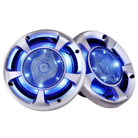Set of 2 MaxTurbo Car Speakers with LED Light 500w
