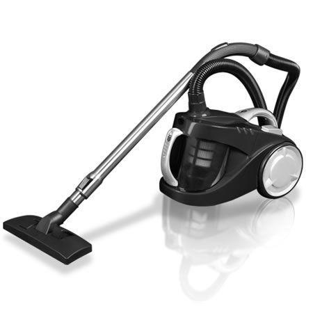 Bagless Cyclone Cyclonic Vacuum Cleaner HEPA - Black