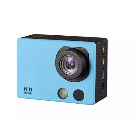 HD18A Full HD 1080P 2-inch Touch Screen Waterproof Sports Action Camera - Blue