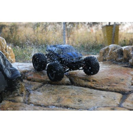 Cool GPTOYS S911 2WD High Speed 40km/h Remote Control Off Road Cars Moster Truck -Blue