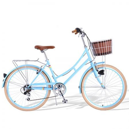 Santa Fe Vintage Ladies Cruiser Dutch Cycle Bicycle - Blue