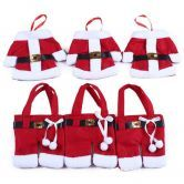 Santas Pants Gift Bag -tops+Pants