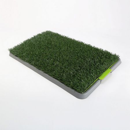 Indoor Dog Pet Potty Training Toilet Portable - 1 Grass Mat