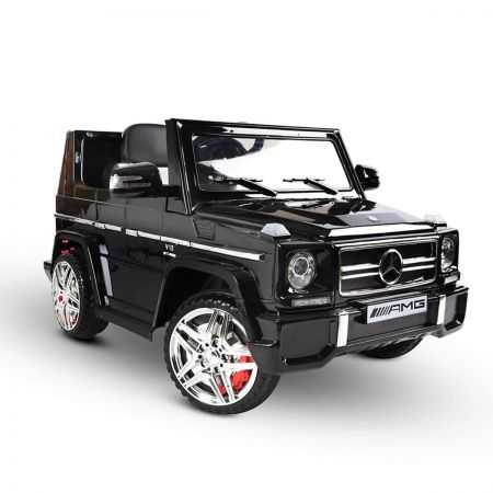 Licensed Mercedes G65 AMG Kids Ride on Car with Remote Control - Black