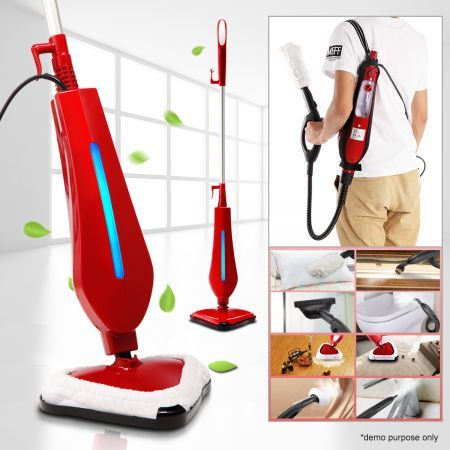12-in-1 Multi-functional Steam Mop-1300W