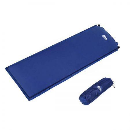 Self inflating Mattress Single 6cm - Blue