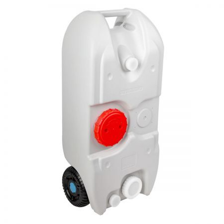 40L Portable Wheel Water Tank - Grey