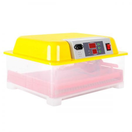 Automatic 24 Egg Incubator - Yellow