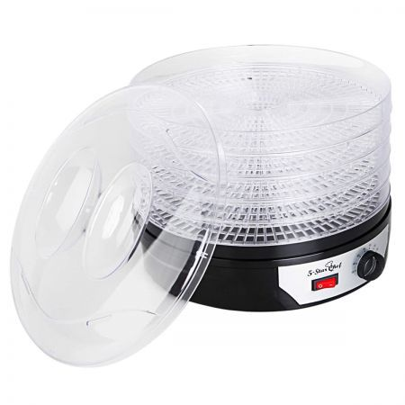 5 Trays Food Dehydrator - Black
