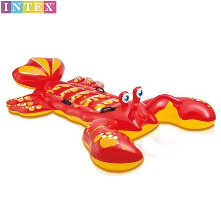 Kids Intex Inflatable Lobster Swimming Pool Ride On