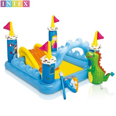 Kids Inflatable Fantasy Castle Pool Play Centre