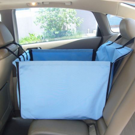 Small Single Rear Seat Folding Waterproof Pet Car Seat