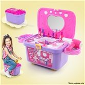 Kids Vanity Make-up Case Toy Storage Box