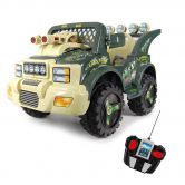 Ride-On Military Jeep with Lights / Music & Remote Control 6V Electric