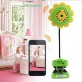 Baby Monitor Wifi Camera DVR Night Vision Mic For IOS System & Andriod Smartphone IP Smartphone Audio Night Vision