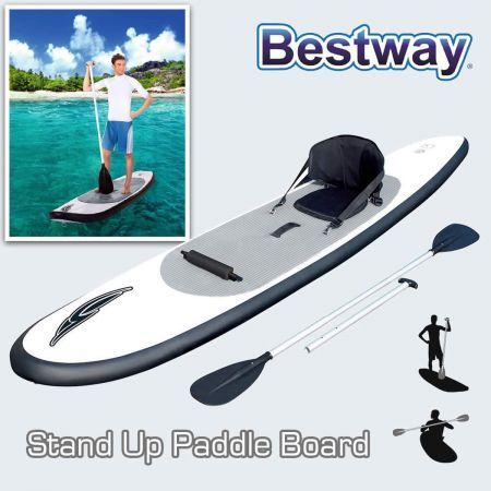 Bestway 122 Inflatable Stand Up Paddle Board Surfboard Sup
