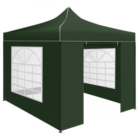Perfect Oasis 3x3 Pop Up Outdoor Gazebo Folding Tent Marquee - Green
