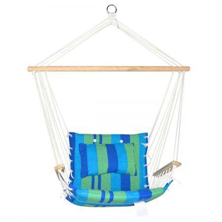 Hammock Swing Chair - Blue Green