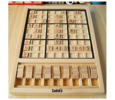 kids wooden puzzle Sudoku educational toys