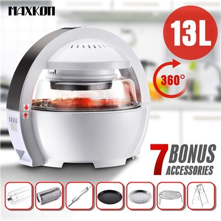 Space Capsule Inspired Design Air Fryer Oven Cooker