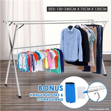 Foldable Stainless Steel Drying Rack