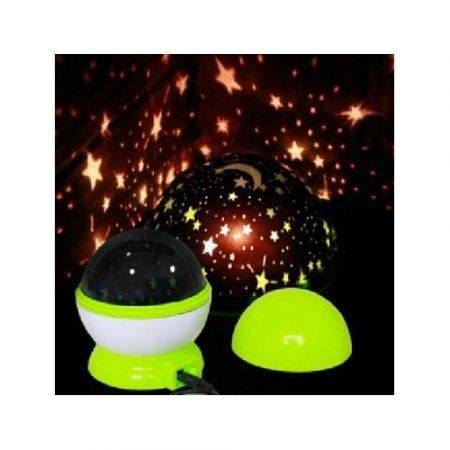 USB Led Automatic Starry Sky Projection Night Light Lamp(Ramdom Color)
