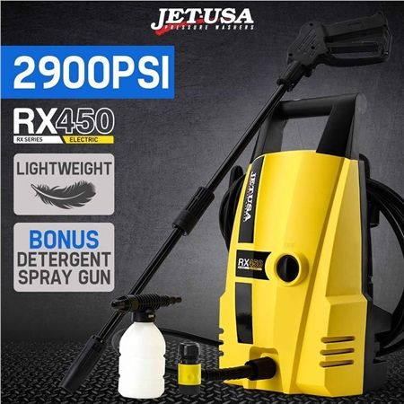 Jet-USA Pressure Washer Electric 2900PSI High Pressure Cleaner RX450