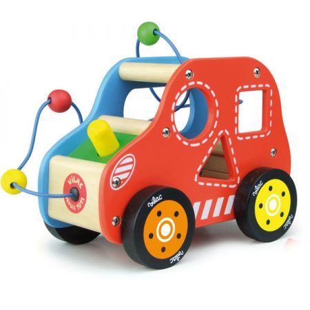 Multi Activity Car by Vilac