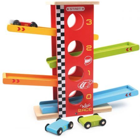 Cars Race Tower by Vilac