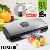 Maxkon LED Vacuum Sealer Food Saver-Stainless Steel