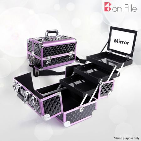 Portable Makeup Jewellery Beauty Cosmetic Travel Case
